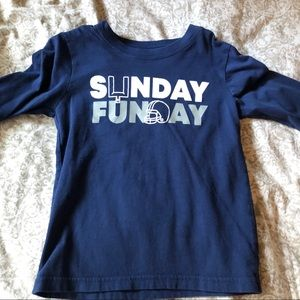 """🛍3 for 25🛍 Carters """"Sunday Funday"""" long sleeve"""